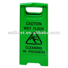 plastic security signs