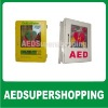Weatherproof AED cabinet w/alarm&strobe