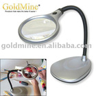 Desktop LED Lighted Magnifier / magnifier with light/crafts lamp