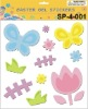 Easter gel cling sticker