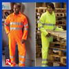 EN471 hi-vis overall workwear, safety overall boilersuit , overall with hi-vis reflective tape