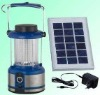 Rechargeable Solar Camping Lantern with Solar Panel