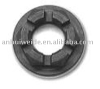 Black Plated Axle lock nut plating with black