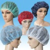 Disposable bouffant cap/surgical cap