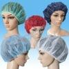 Disposable bouffant cap/surgical cap