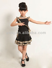 hot sale children girl latin dance dress