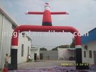 2012 inflatable Christmas santa arch