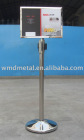 A3-L signage frame, message board, poster holder,retractable belt stand,extend barrier,retracta post