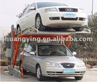 Tilting car parking system
