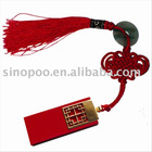 Red Chinese Knot usb flash drive