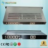 1-8ch broadcast analog audio fiber optic transmitter/receiver