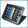 Hot leather case wih stand for ipad