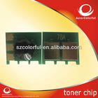 Compatible toner cartridge chip for hp CE 278A reset printer chips