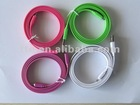New Colored Micro USB 2.0 Flat Cable for Samsung/HTC/Blackberry