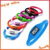 Mutli Colors Waterproof digital sport silicone bracelet watch