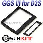 GGS III LCD Screen Protector glass for NIKON D3s D-SLR