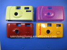 colorful camera front cover, plastic injection
