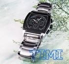 2012Hot Sale Black Dial Dat& Date Mens Automatic Mechanical Wrist Watch Stainless Stell
