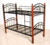 steel bunk bed
