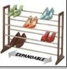 4 tier wooden shoes rack