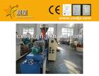 250kg/h SJSZ65 PVC granulating line