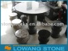 stone table with stone stool