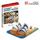 Cubic Fun Mini Sydney Opera House Puzzles