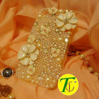 2012 beatiful jeweled cell phone cases for lady (CP-431)