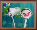 High quality best sell in ear earphone flat cord earphone