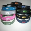 2012 Newest style best selling silicone rubber bracelet