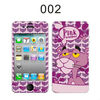 The Pink Panther pattern design cell phone skin sticker for iphone 4, wholesale cut phone sticker