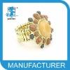 adjustable gold ring designs for girls