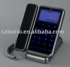 Caller ID Phone with blue backlight
