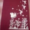 beautiful Christmas tablecloth