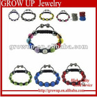 2012 bracelet de boule en cristal de shamballa