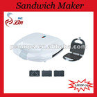 Automatic 3 In 1 Sandwich Maker With Sandwich/Grill Plate For Choose