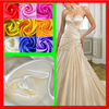 Mermaid sweetheart bridal gowns 100% shiny satin fabric