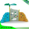 Kids artificial rock climbing wall