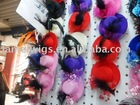2011 fashion hair jewelry with hat, lace and feather,head flower