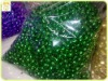 1cm green christmas decoration jingle bell
