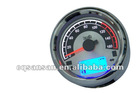 Silver Rim motorcycle Gauges