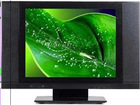 """19"""" LCD TV with Wide Panel"""
