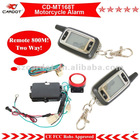 The Most Economical Two Way Motorcycle Alarm ,Bike Alarm CD-MT168T,ACC learning code,remote start type