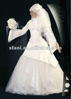 Gorgeous Muslim Wedding Dress 2013