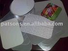 aluminium foil container lid