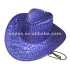 purple cowboy hat