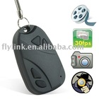 Hidden Car Key Chain Camera with sound record