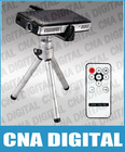 Cinema projector! 2GB Mini Multimedia 3M RGB Lens 3-Color LED Projector