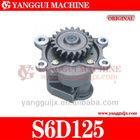 Komatsu S6D125-OEM6151-51-1004 Oil pump