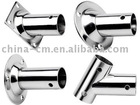 Fish rod holder chrome plated